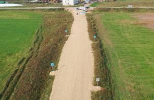 Смоленские чиновники устроили большой скандал из-за маленькой дороги