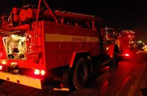 Пожар и эвакуация на улице Черняховского. Смолянин лежал на по полу без чувств, сосед его спас
