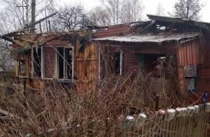 В Рудне в доме сгорела женщина
