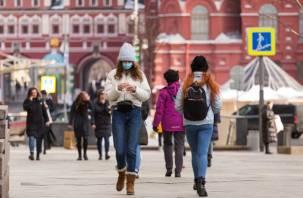 Москвичи в 1,5 раза чаще стали нарушать масочный режим