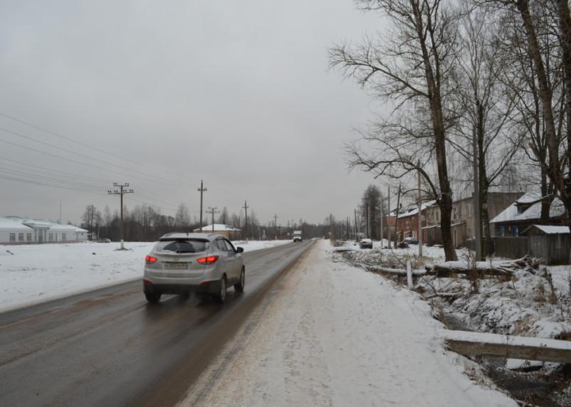 В Угранском районе завершен ремонт дороги