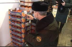 На Заднепровский рынок в Смоленске нагрянули с проверкой