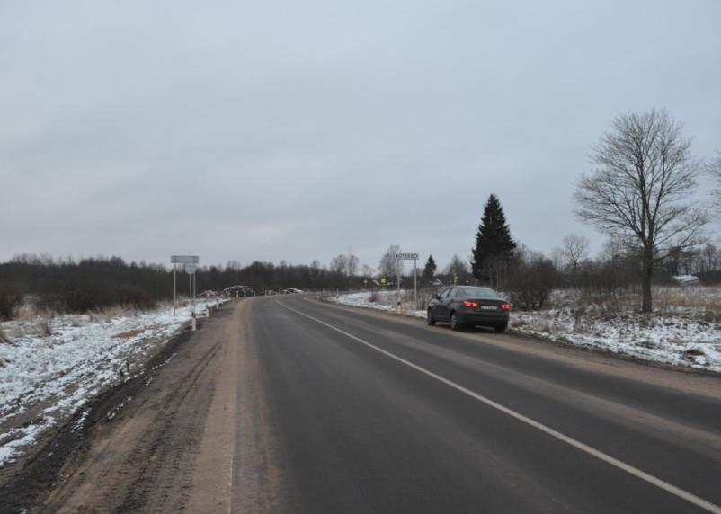 Смоленскавтодор отремонтировал два участка дороги Демидов-Рудня
