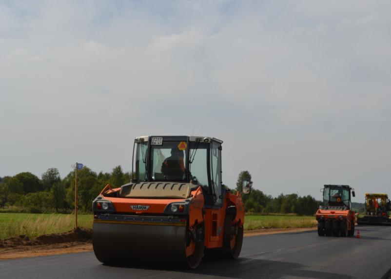 В Смоленской области отремонтировали 147 км дорог в рамках нацпроекта