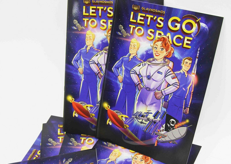 «Дочка» Роскосмоса выпустила комикс про женщину-космонавта