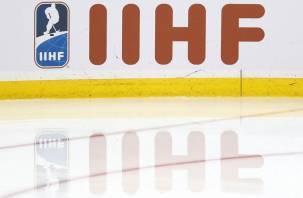 Беларусь лишили права на проведение чемпионата мира по хоккею 2021 года