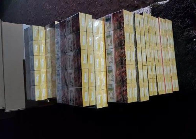 У смолянина в машине нашли 3500 пачек контрафактных сигарет