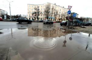 Замечаний нет. Власти Смоленска приняли работы по ремонту улицы Николаева