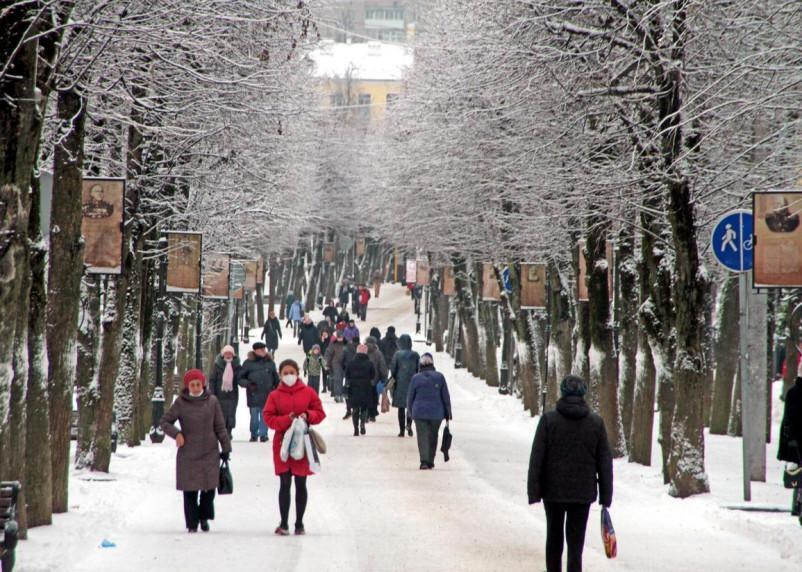 14 января в Смоленской области резко похолодает