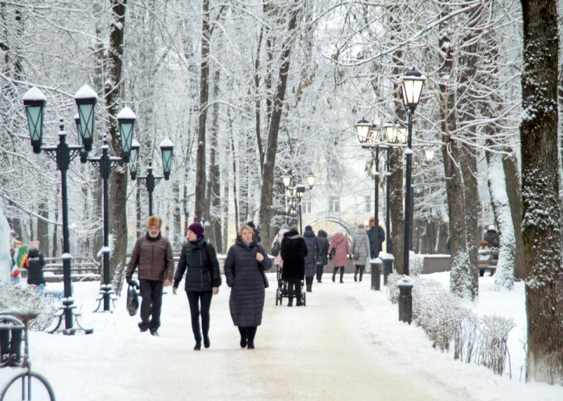 Какой будет погода на Старый Новый год и Крещение в Смоленской области