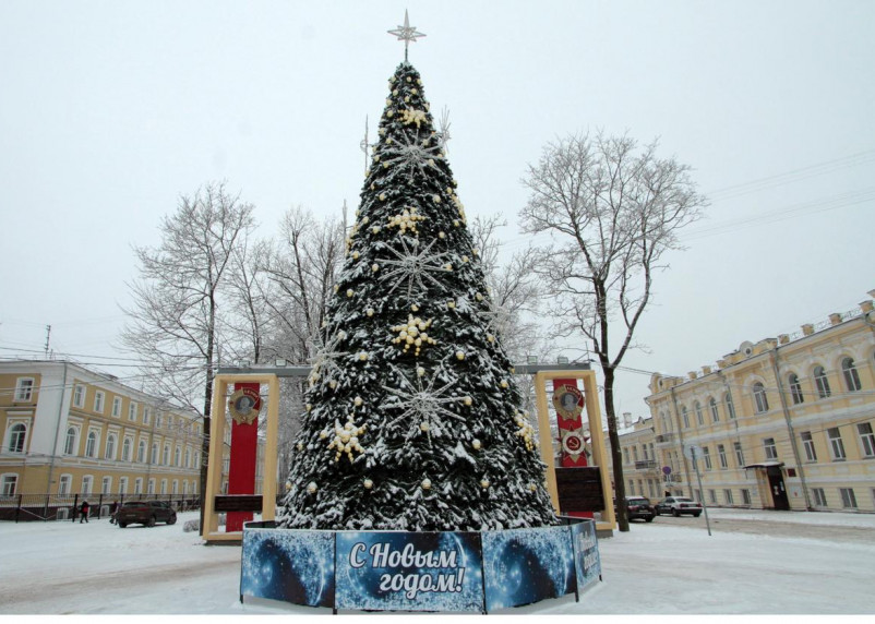 Синоптики рассказали о погоде в Смоленской области 1 января 2021 года
