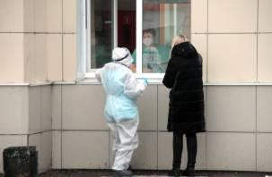 Суточная смертность от коронавируса на Смоленщине снизилась