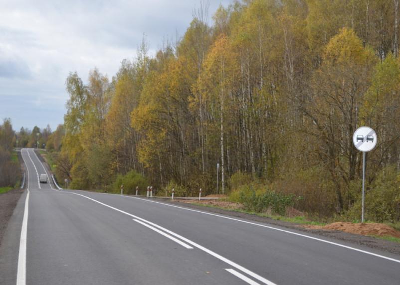 В Починковском и Хиславичском районах завершен ремонт дорог по нацпроекту