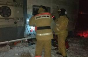 Три человека погибли при опрокидывании автобуса в Рязанской области
