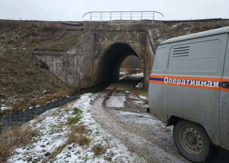 В Смоленском районе нашли мину возле железной дороги
