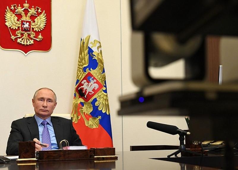 Владимир Путин поздравил Байдена с победой на выборах в США