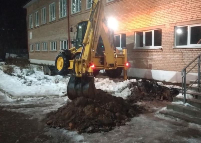 Более 1600 человек остались без холодной воды из-за коммунальной аварии в Вязьме