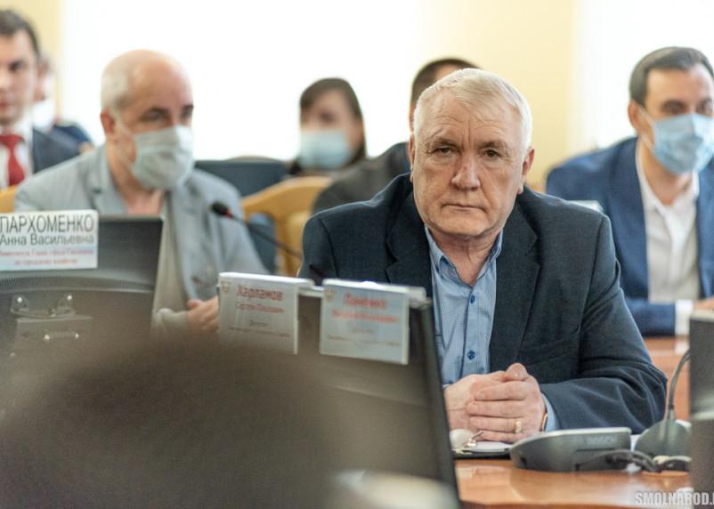 Представитель Партии пенсионеров в Смоленске «проспал» вопрос о председателе горсовета
