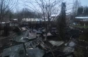 Огонь беспощаден. Смолянин лишился двух домов
