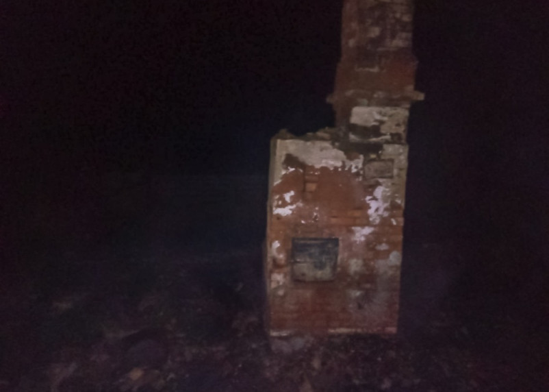 В Рославльском районе в горящем доме погиб мужчина
