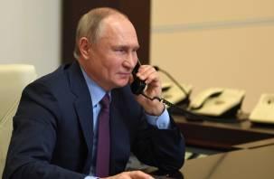 Путин пожелал Байдену здоровья