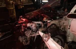 Подробности жёсткой аварии с Камазом в Смоленске