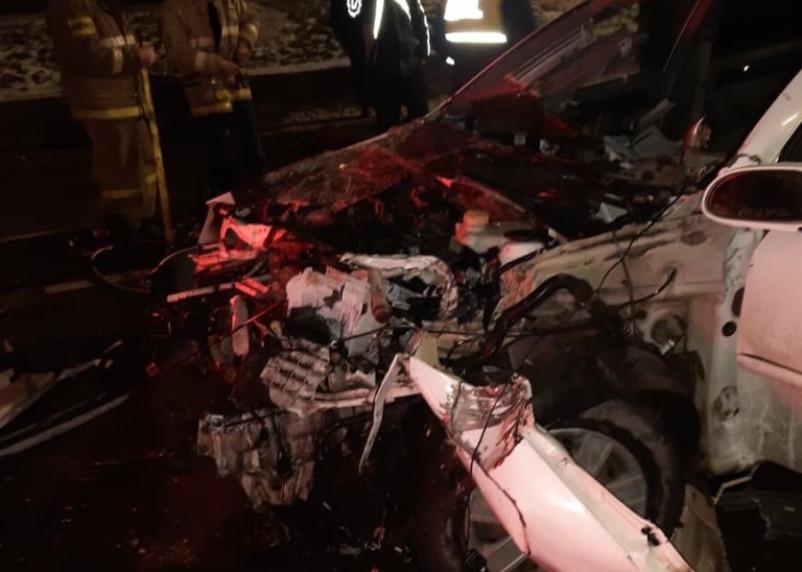 «Водителя зажало». Человек пострадал в аварии с «КАМАЗом» в Смоленске