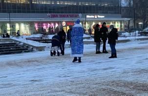 В Смоленске заметили необычных Дедов Морозов