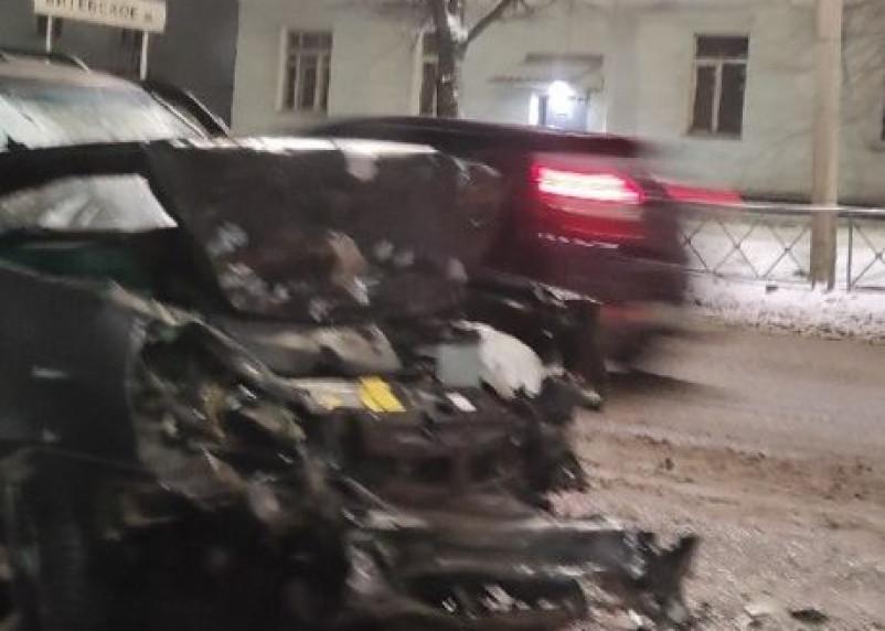 В ДТП на Витебском шоссе в Смоленске пострадал пассажир