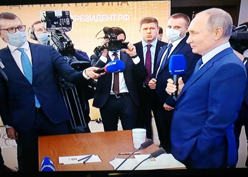 Путин побил рекорд пресс-конференции