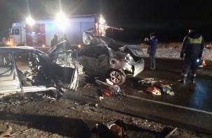 СК возбудил дело по факту ДТП с шестью погибшими в Смоленской области