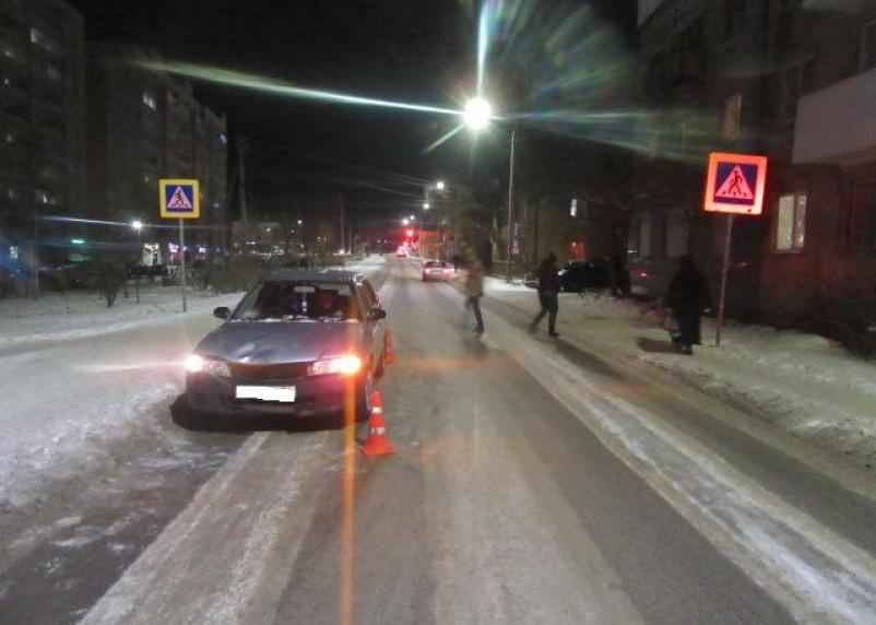 В Смоленске иномарка сбила мужчину на пешеходном переходе