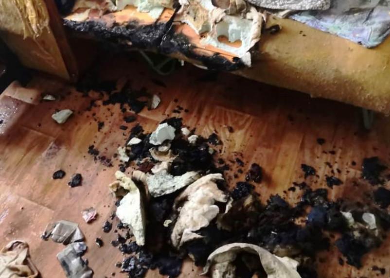 В Смоленской области в огне погибла женщина
