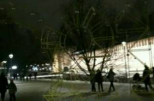 В Смоленске погас арт-объект «2021»