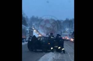 Смоленские автомобилисты восхищены сотрудниками ДПС