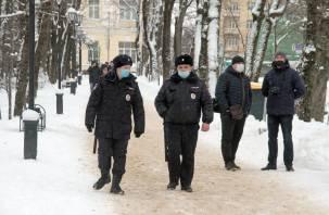 Стало известно общее количество задержанных в Смоленске за участие в несанкционированной акции