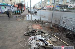 Ремонт улицы Николаева: закончили или приостановили?