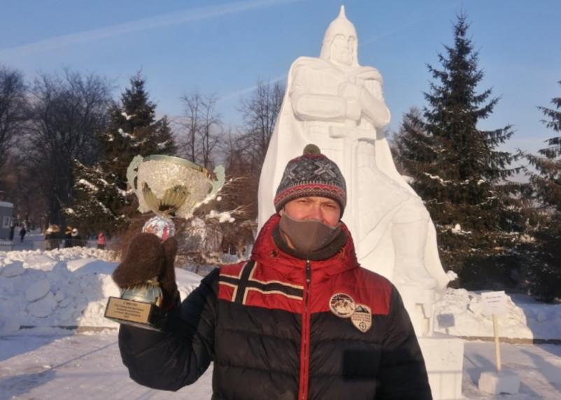Смоляне победили на фестивале снежных скульптур в Новосибирске