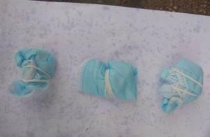 В Смоленской области героин прятали в медицинских масках