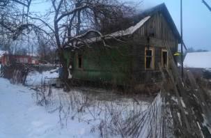 Два дома и квартира горели в Смоленской области 7 февраля