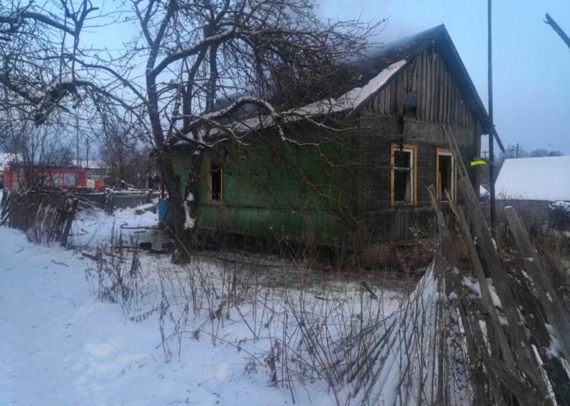 В Смоленском районе при пожаре погибли двое мужчин