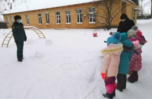 В Смоленской области эвакуировали детей и воспитателей из детского сада