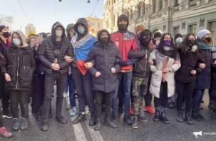 Кузнецова прокомментировала «живую цепь» из детей на акции во Владивостоке