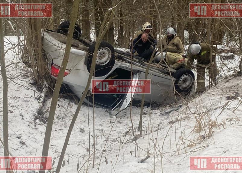 В Смоленской области в ДТП пострадала женщина