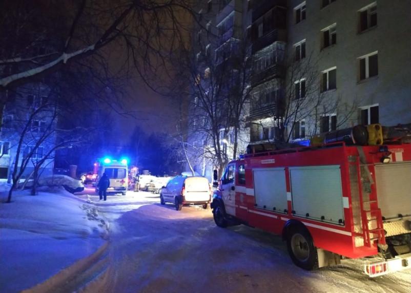 Женщина просила о помощи в Twitter. В пожаре в Екатеринбурге погибли 8 человек