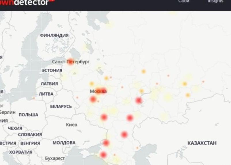 В работе «Билайна», «Ростелекома» и Twitter произошел масштабный сбой