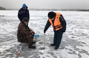 Смолян предупредили об опасности выхода на лед во время оттепели
