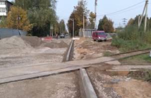 Полная Попова. Ремонт улицы в Смоленске может обернуться уголовным делом