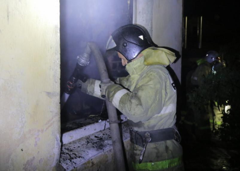 Два пожара произошли в Смоленской области утром 17 января