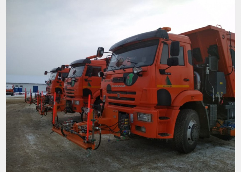 В Смоленске появятся новые машины для обработки дорог. Песок уйдет в прошлое?